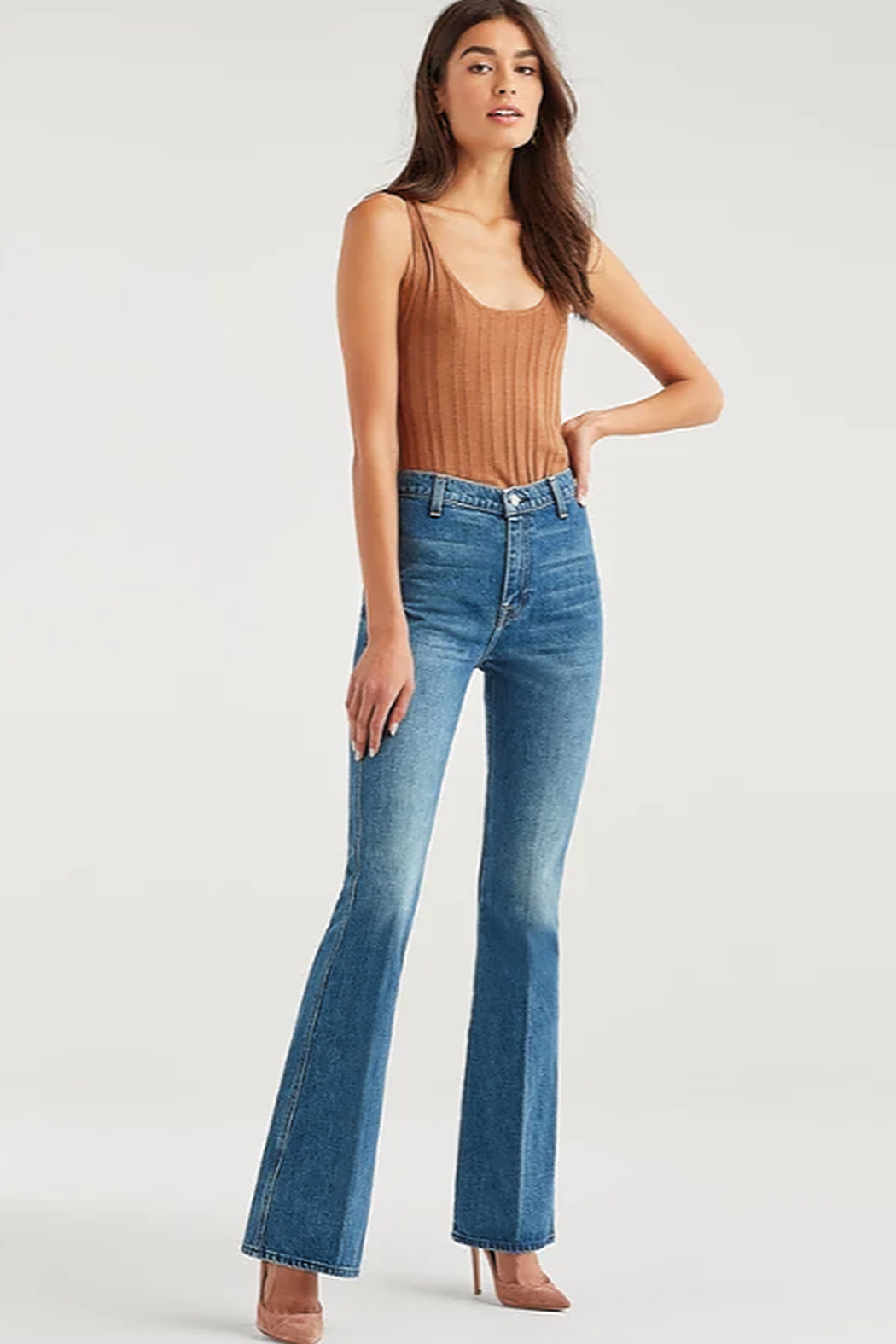 7 For all Mankind Modern A Pocket Jeans - Main Image