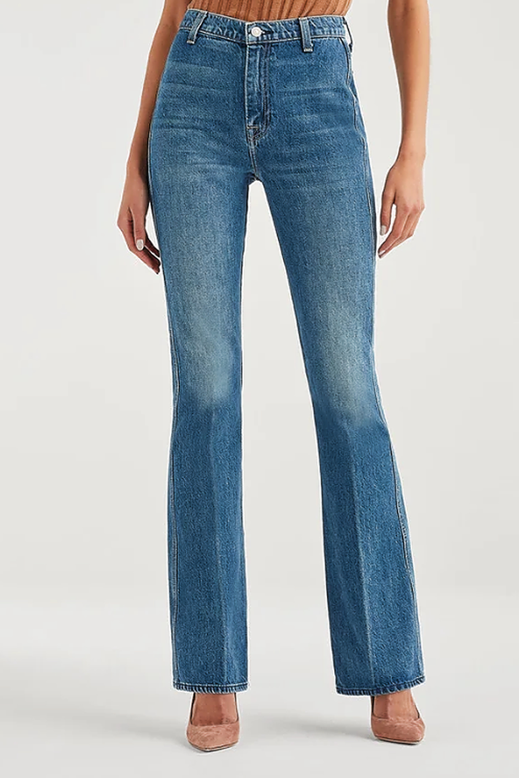 7 For all Mankind Modern A Pocket Jeans - Front Full Image