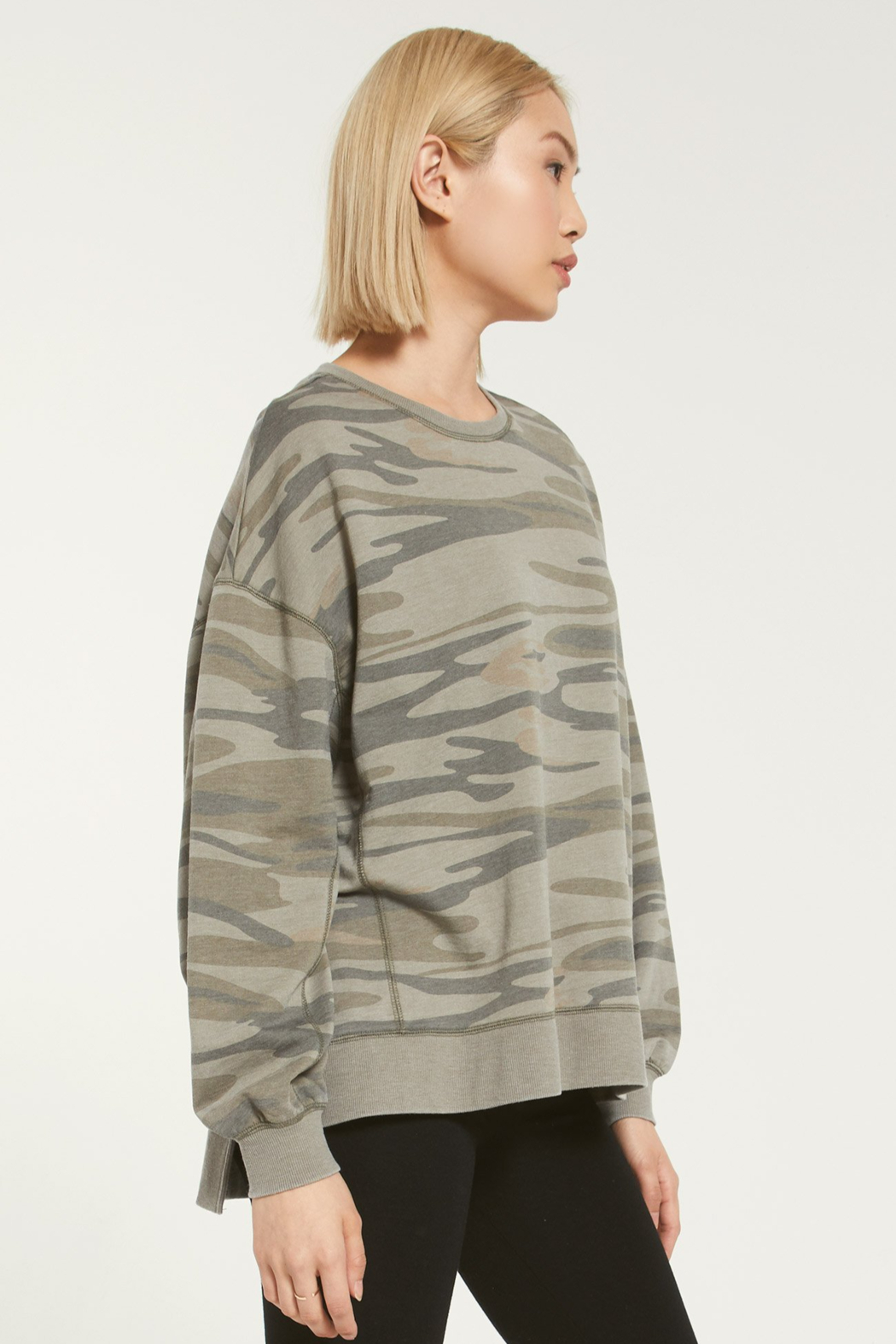 z supply Modern Camo Weekender - Side Cropped Image