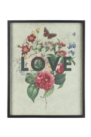 Ganz Modern Floral Sayings Wall Decor - Front cropped