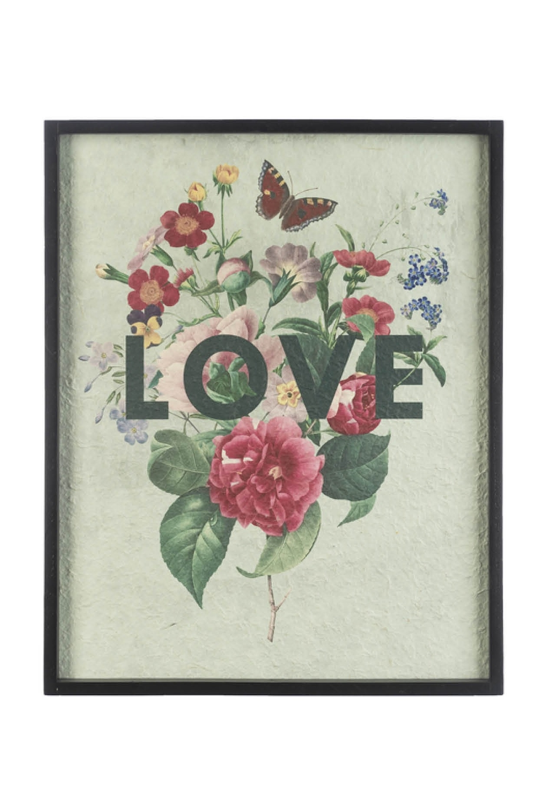 Ganz Modern Floral Sayings Wall Decor - Front Cropped Image