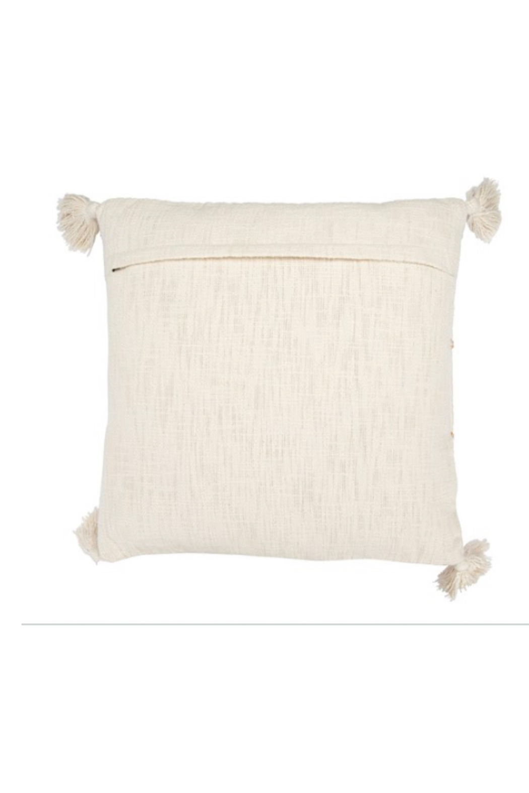 Creative Co-Op Modern Gypsy Pillow - Front Full Image