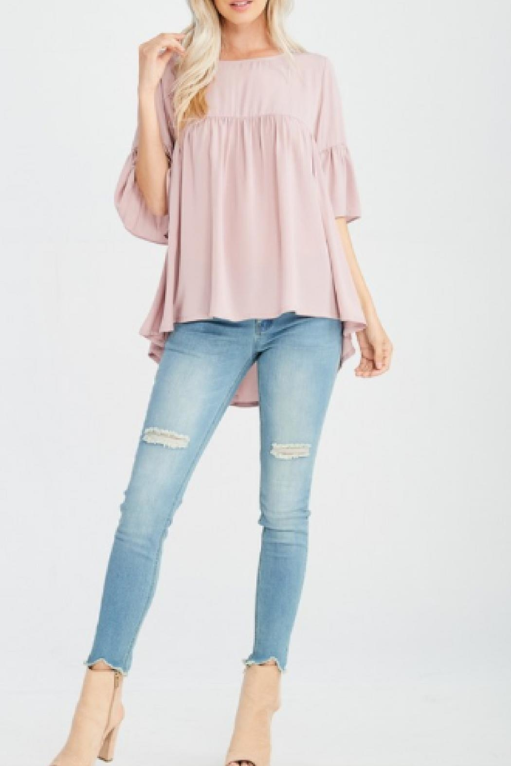 Wishlist Modern Mauve Top - Front Cropped Image
