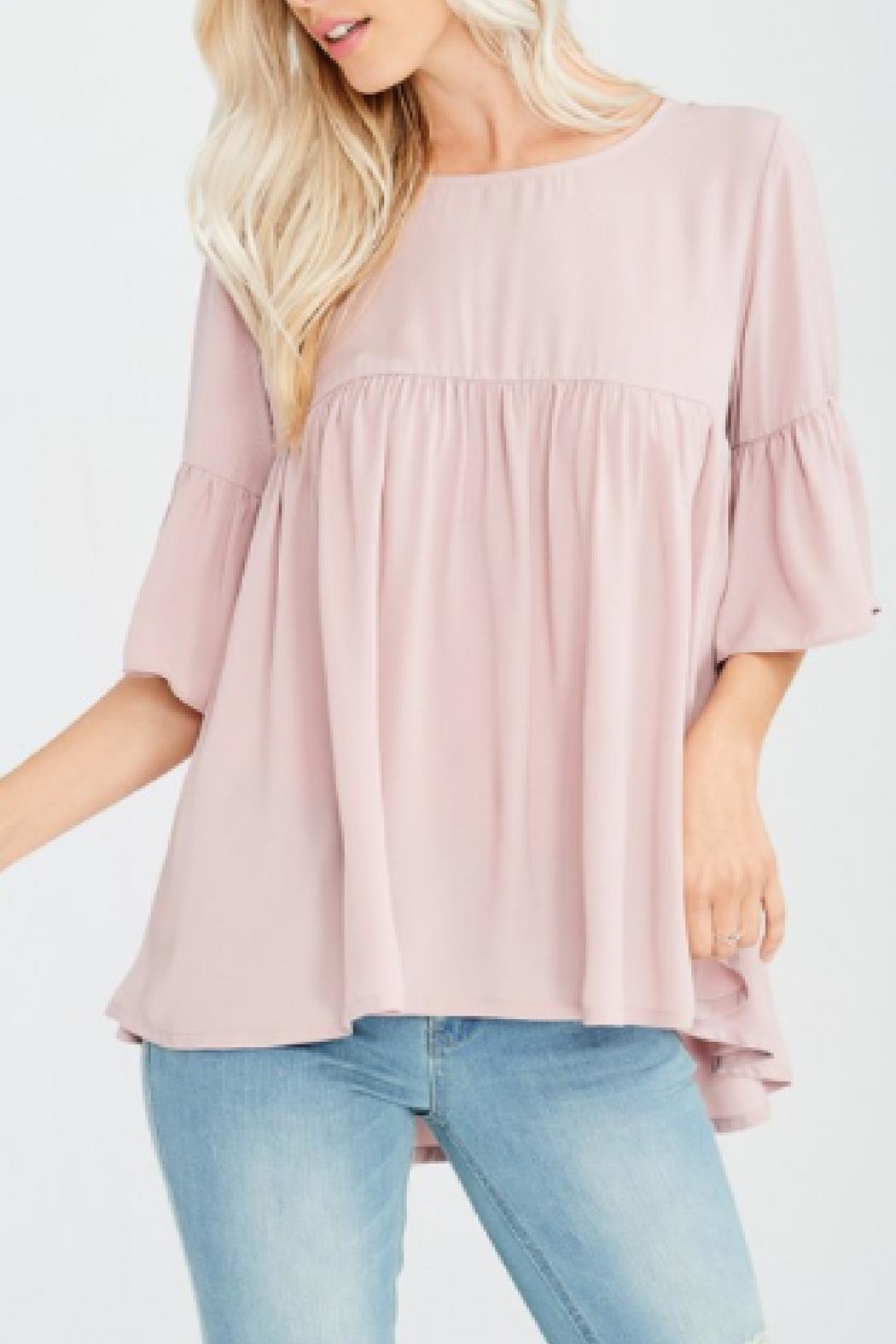 Wishlist Modern Mauve Top - Front Full Image