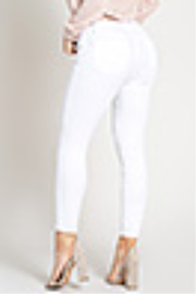 Lyn-Maree's  Modern Straight Leg Ankle Jean - Front full body