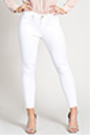 Lyn-Maree's  Modern Straight Leg Ankle Jean - Front cropped