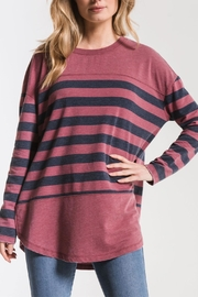 z supply Modern Stripe Crew - Front cropped