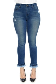Modern Emporium Distressed Women's Jeans - Product Mini Image