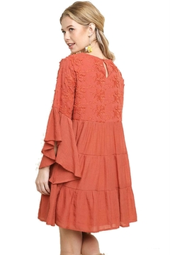 Modern Emporium Embroidered Ruffled Dress - Product List Image