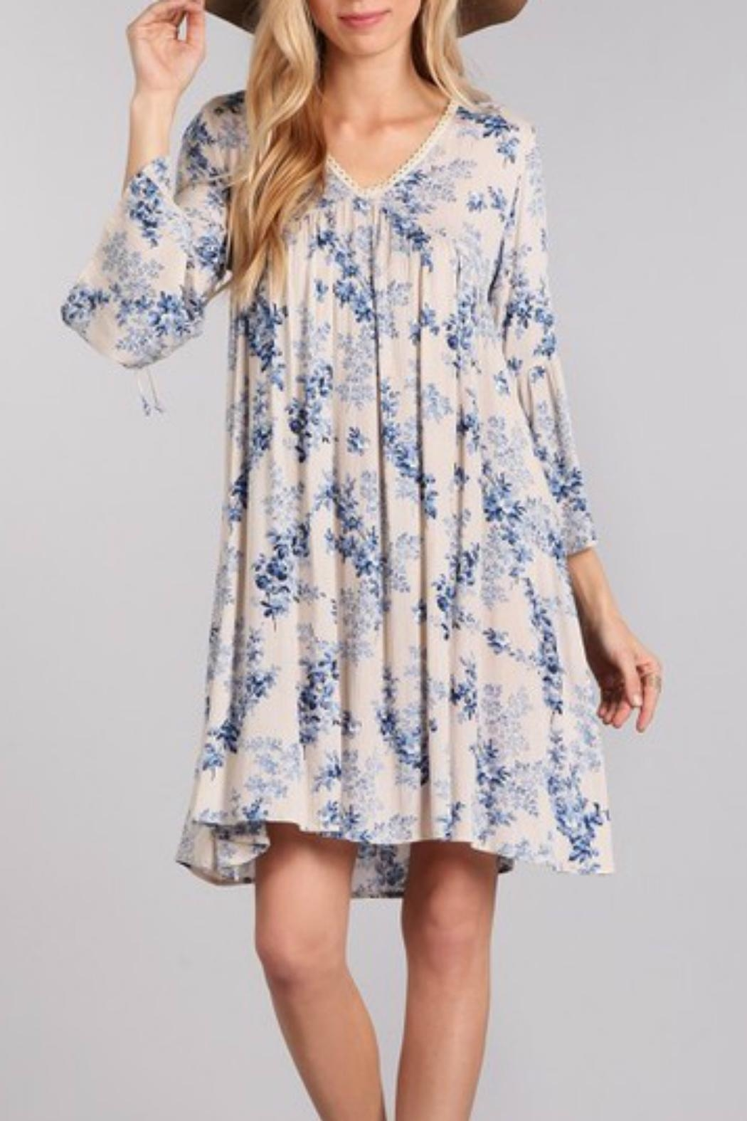 Modern Emporium Floral Dress - Front Cropped Image