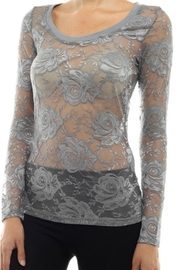 Modern Emporium Hipster Lace Top - Side cropped