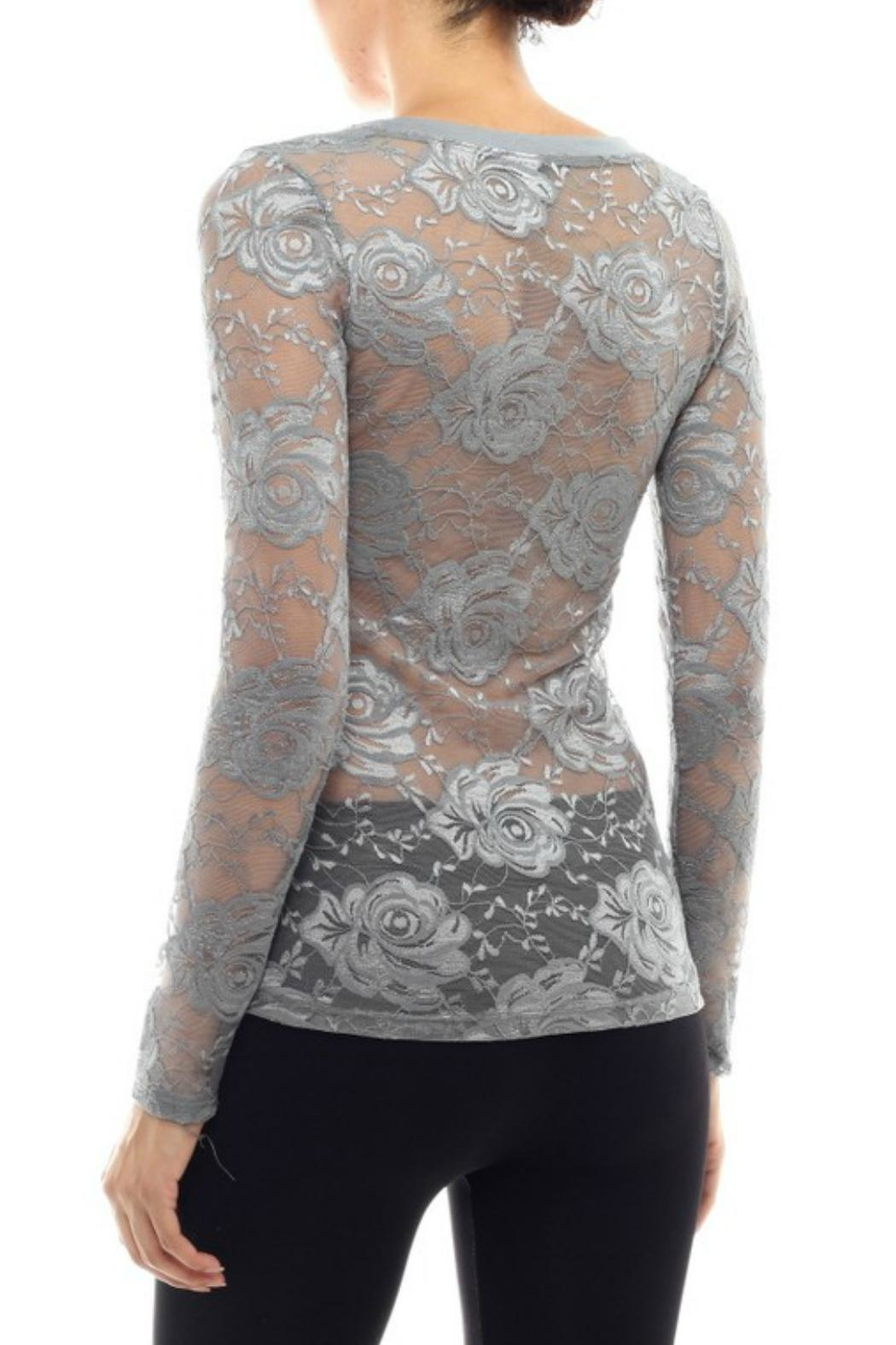 Modern Emporium Hipster Lace Top - Front Full Image
