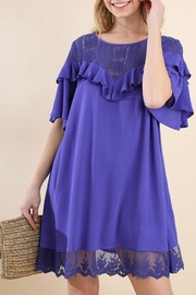 Modern Emporium Lace Flaring Dress - Product Mini Image