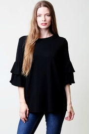 Modern Emporium Layered Sleeve Top - Product Mini Image