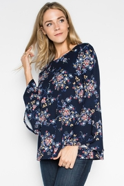 Modern Emporium Overlap Bell Sleeves - Front cropped