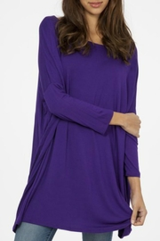 Modern Emporium Solid Knit Tunic - Product Mini Image