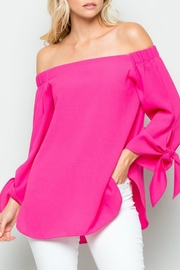 Modern Emporium Tie Sleeve Top - Product Mini Image