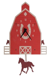 Modern Moose Barn Pendulum Clock - Product Mini Image