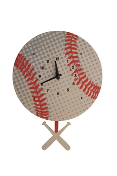 Modern Moose Baseball Pendulum Clock - Alternate List Image