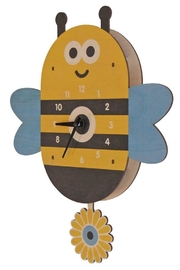 Modern Moose Bee Pendulum Clock - Product Mini Image