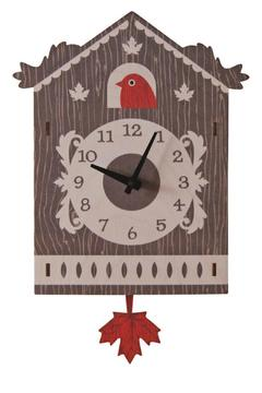 Modern Moose Cuckoo Pendulum Clock - Alternate List Image