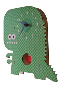 Modern Moose Dinosaur Pendulum Clock - Alternate List Image