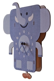 Modern Moose Elephant Pendulum Clock - Product Mini Image