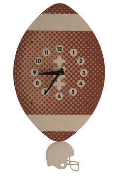 Modern Moose Football Pendulum Clock - Alternate List Image