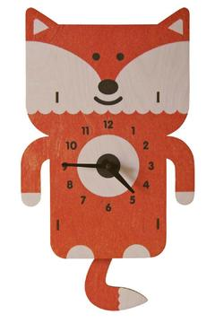Modern Moose Fox Pendulum Clock - Product List Image