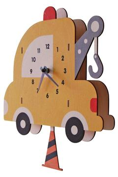 Modern Moose Towtruck Pendulum Clock - Alternate List Image