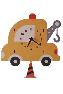 Modern Moose Towtruck Pendulum Clock - Product List Image