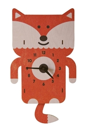 Modern Moose Fox Pendulum Clock - Product Mini Image