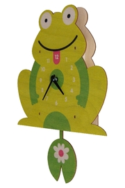 Modern Moose Frog Pendulum Clock - Product Mini Image