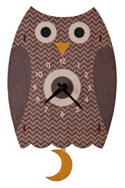 Modern Moose Owl Pendulum Clock - Product Mini Image