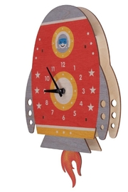 Modern Moose Spaceship Pendulum Clock - Product Mini Image