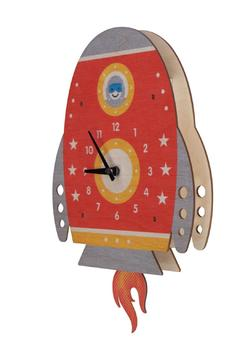 Modern Moose Spaceship Pendulum Clock - Alternate List Image