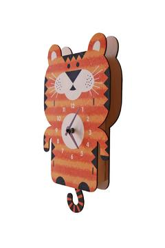 Modern Moose Tiger Pendulum Clock - Alternate List Image