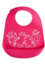 Modern Twist Silicone Kitty Bib - Product Mini Image