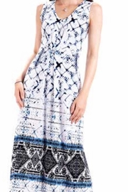 Modes Crystal Fashions Blues Maxi Dress - Product Mini Image