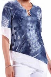 Modes Crystal Fashions Denim And Lace ! - Product Mini Image