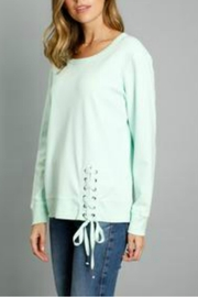 Mododoc Lace-Up Sweatshirt - Product Mini Image