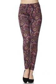 New Mix Modona Print Legging - Product Mini Image