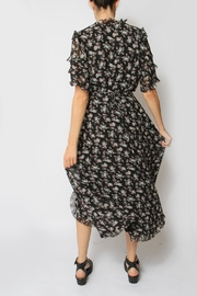 Just Female Moe Floral Dress - Back cropped