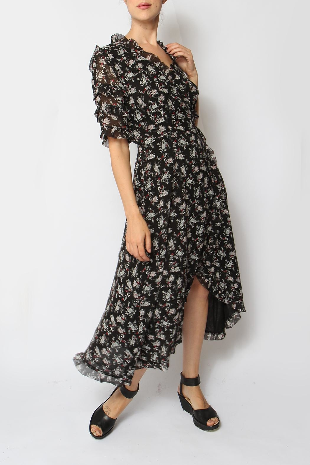 Just Female Moe Floral Dress - Front Full Image