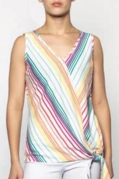 Moffi Crayon Stripe Top - Product List Image