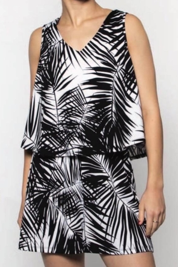Moffi Flouncy Print Romper from Canada by Goldcoast — Shoptiques
