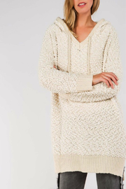 POL Mohair Pullover Hoodie - Product Mini Image
