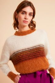 FRNCH Mohair Pullover Sweater - Product Mini Image