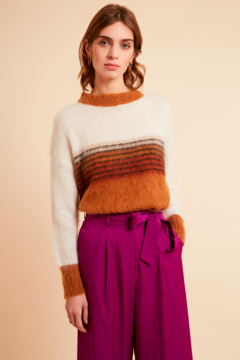 FRNCH Mohair Pullover Sweater - Alternate List Image
