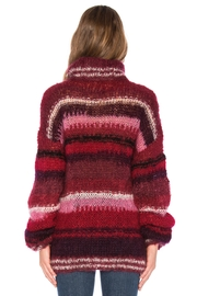 One Clothing Mohair Striped Sweater - Front full body